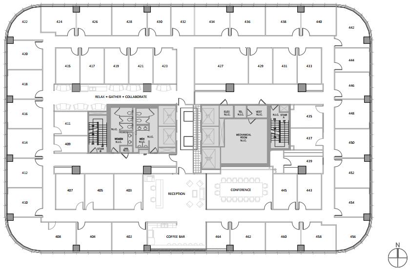 North Houston Executive Suites Floor Plan
